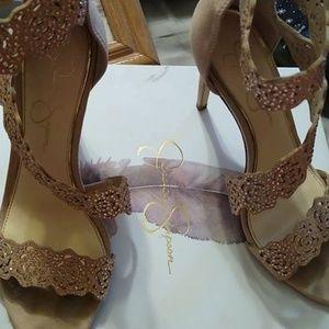Size 7.5 Jessica Simpson heels